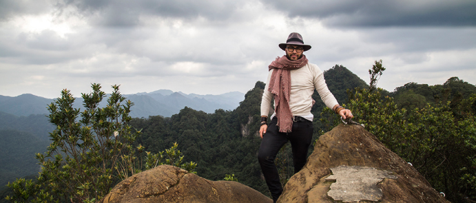 Hiking in the Taiwanese Jungle, november 2015