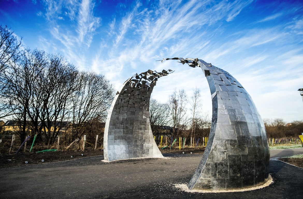 Evolve Sculpture - Cuningar Loop Glasgow