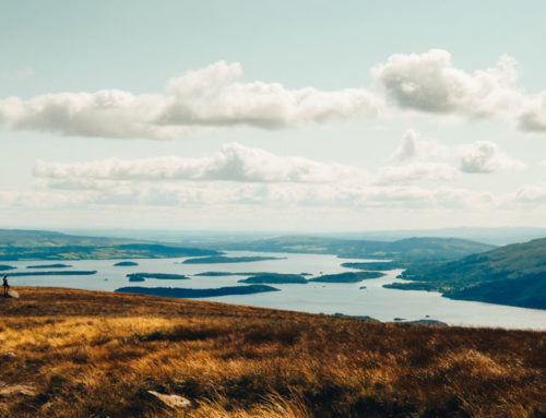 Loch Lomond from the hills of Ben Nevis